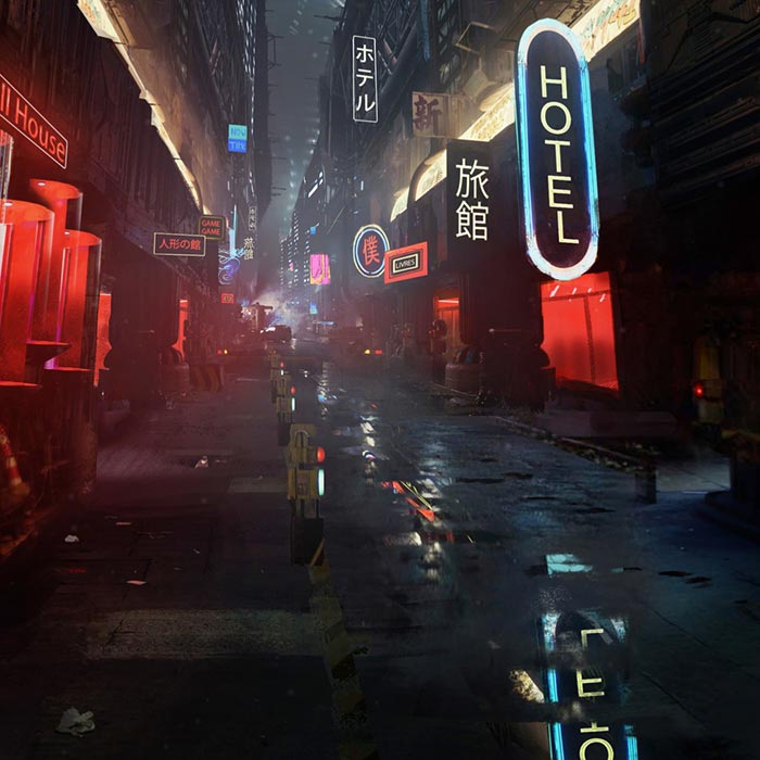 Blade Runner Alley Wallpaper Engine Download Wallpaper