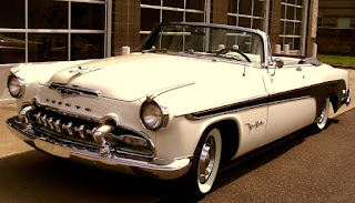 1955 Chrysler Desoto Fireflite Convertible Front Left
