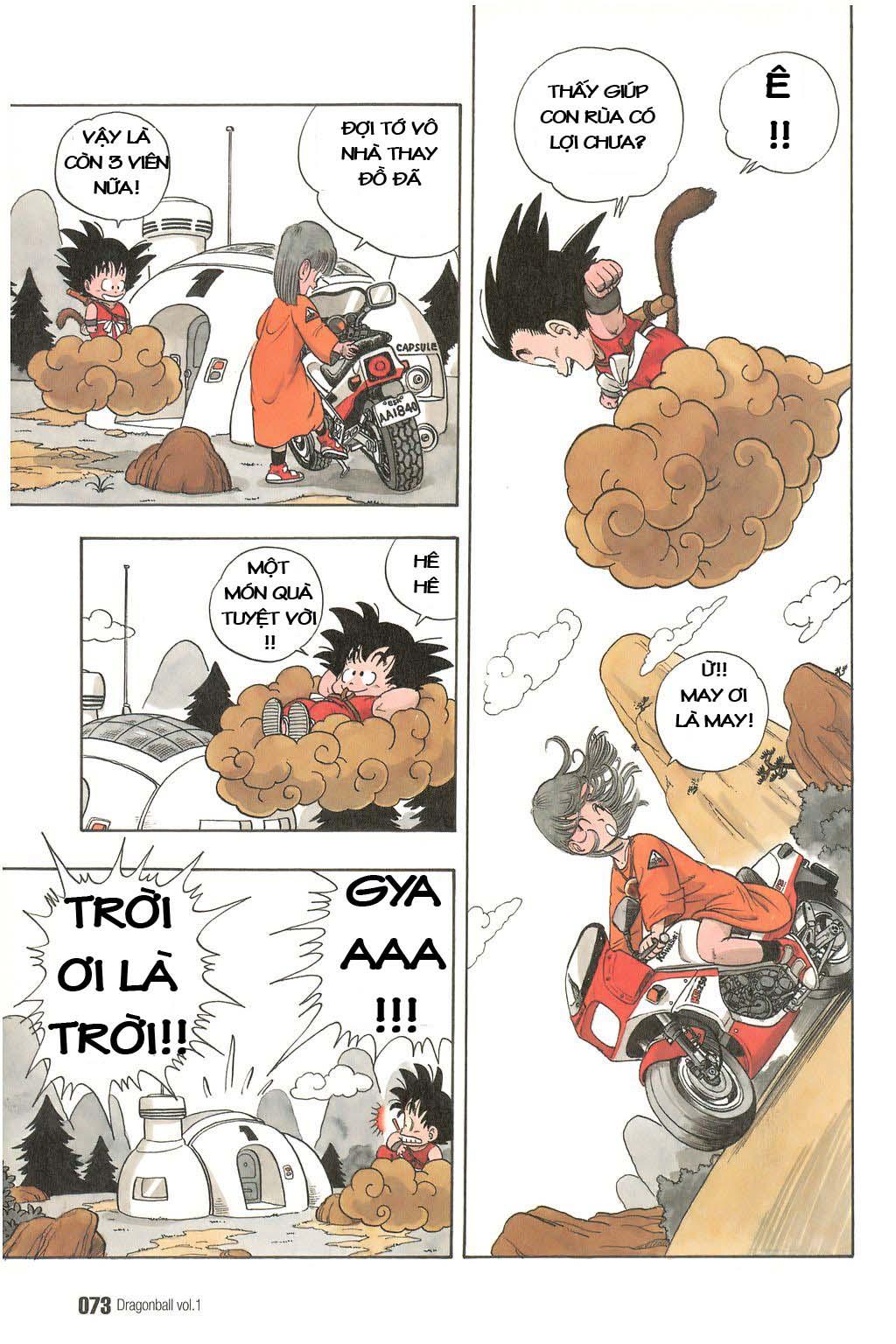 Dragon Ball chap 4 trang 11