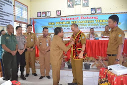 Wakil Bupati Nias, Kecamatan Hiliduho Nominasi Kecamatan Terbaik Tingkat Provsu.