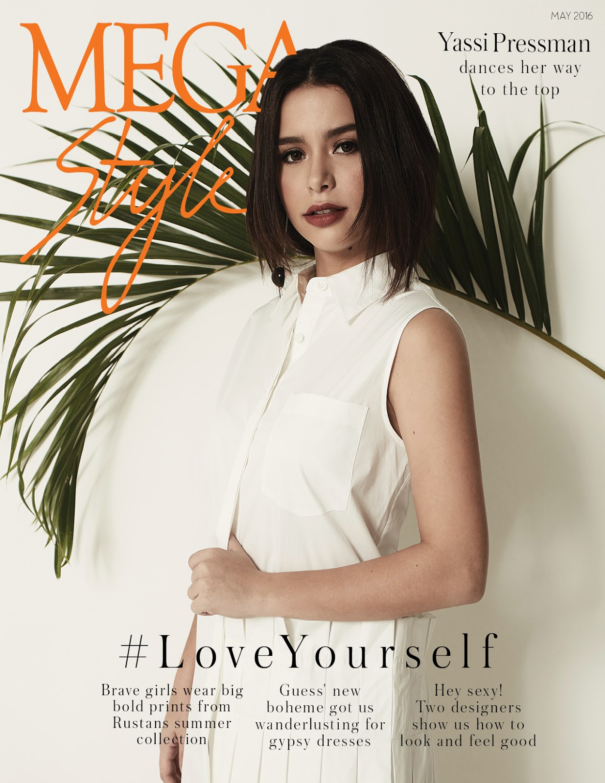 yassi pressman megastyle may 2016 cover fhm fanatics. Black Bedroom Furniture Sets. Home Design Ideas