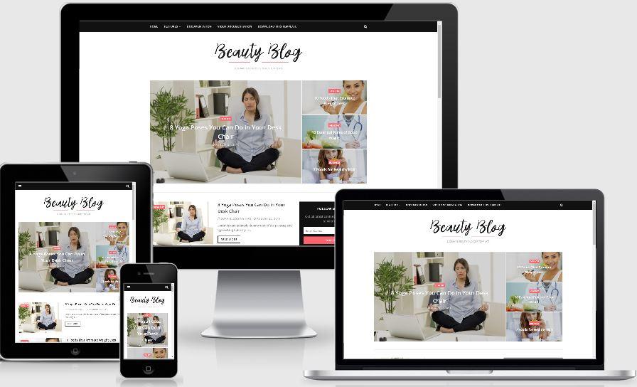 Beauty Blog Template