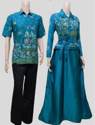 baju batik muslim modern