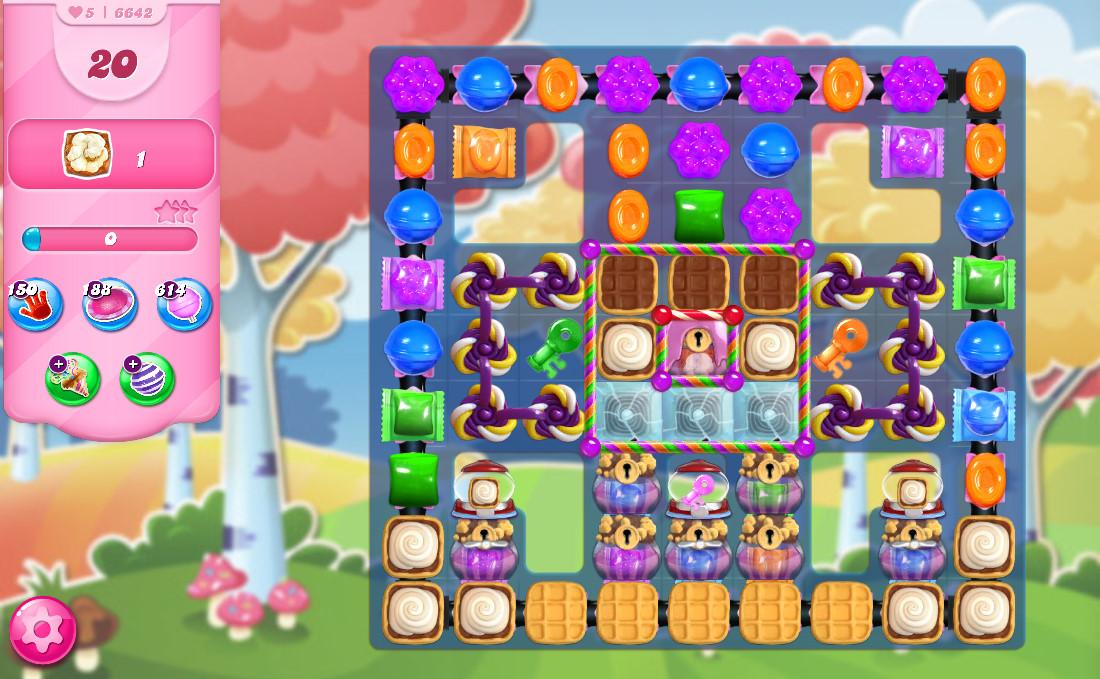 Candy Crush Saga level 6642