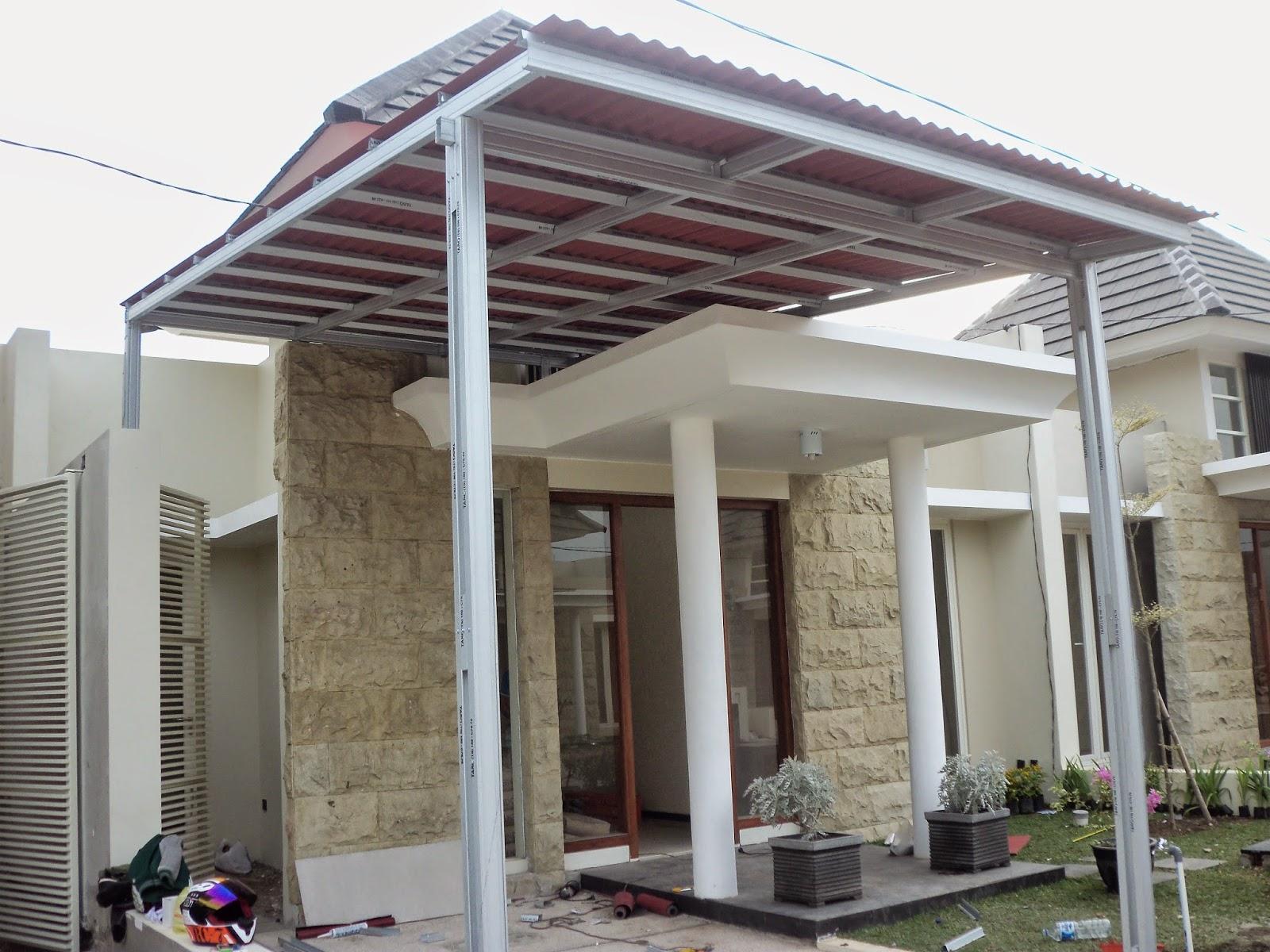 Harga Kanopi Baja Ringan Di Malang Gambar Model Rumah Atap | Interior