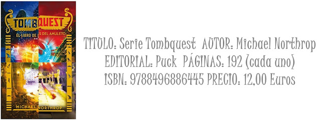 Reseña: saga tombquest