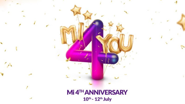Rs. 4 Flash Sale, All Major Offers Detailed   Xiaomi 4th Mi Anniversary Sale Starts Today: Rs. 4 Flash Sale, All Major Offers Detailed.