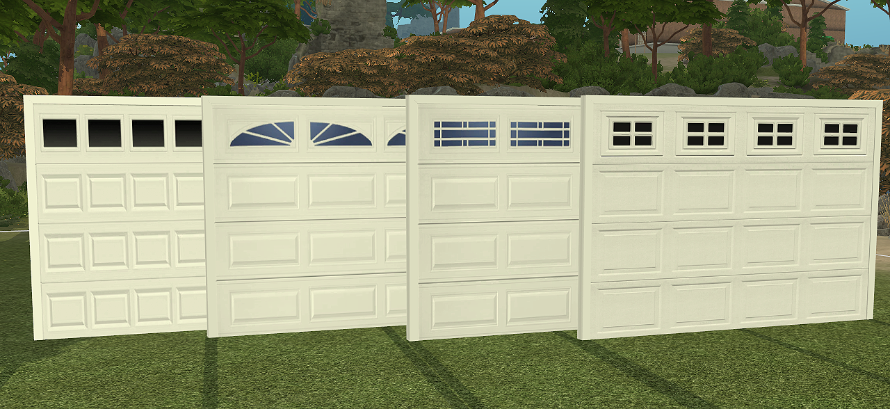 My Sims 4 Blog Ns Modern Garage Doors New Meshes By Daer0n