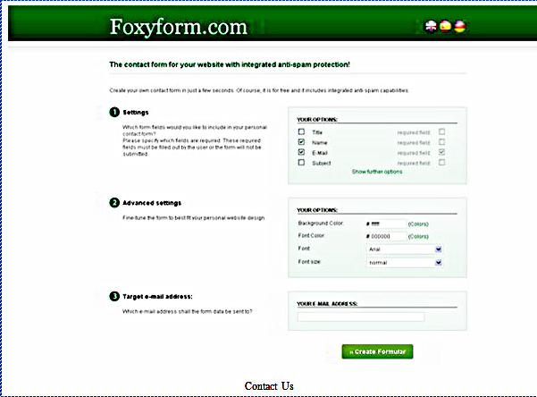 Contact Us Web Page >> Cara Memasang Contact Us Dan Tos Pada Blog Pondok Belajar
