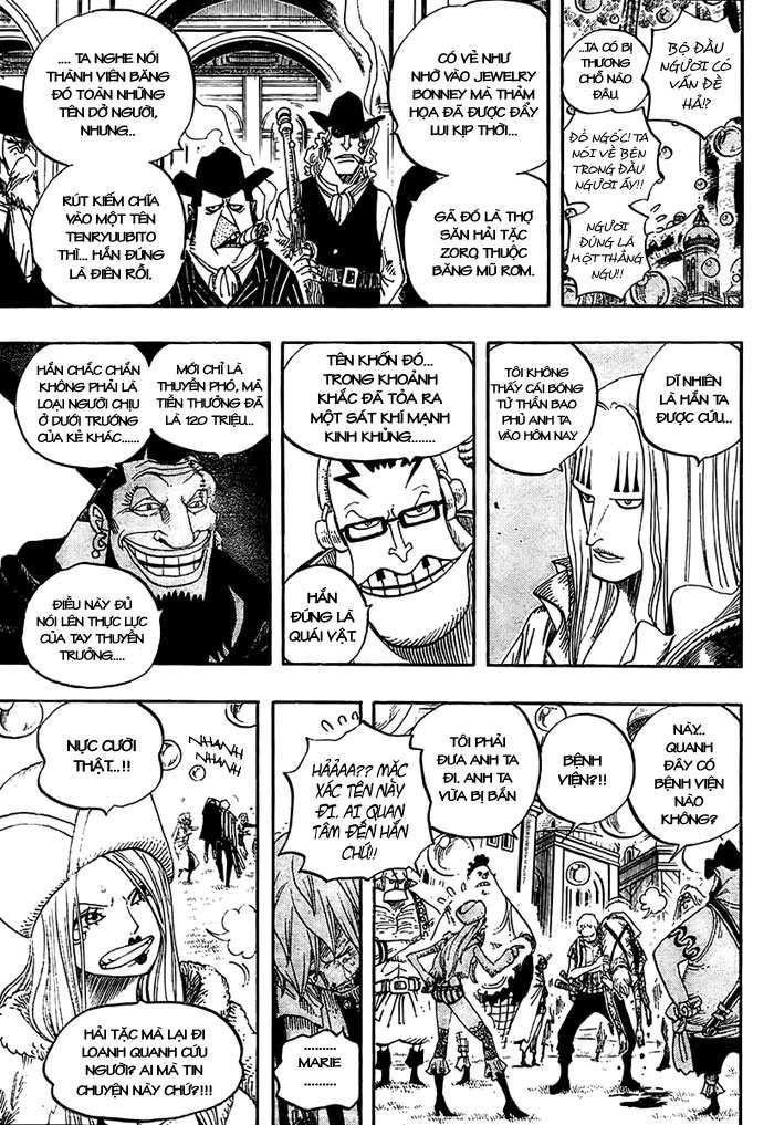 One Piece Chap 499