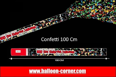 Party Popper / Confetti Ukuran 100 Cm