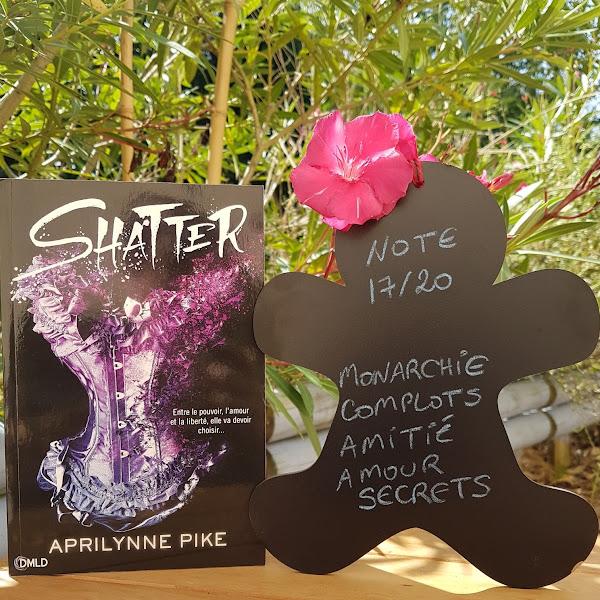 Glitter, tome 2 : Shatter de Aprilynne Pike