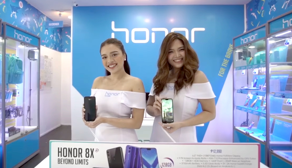 Honor Smartphone Store at SM North EDSA Annex Cyberzone, Now