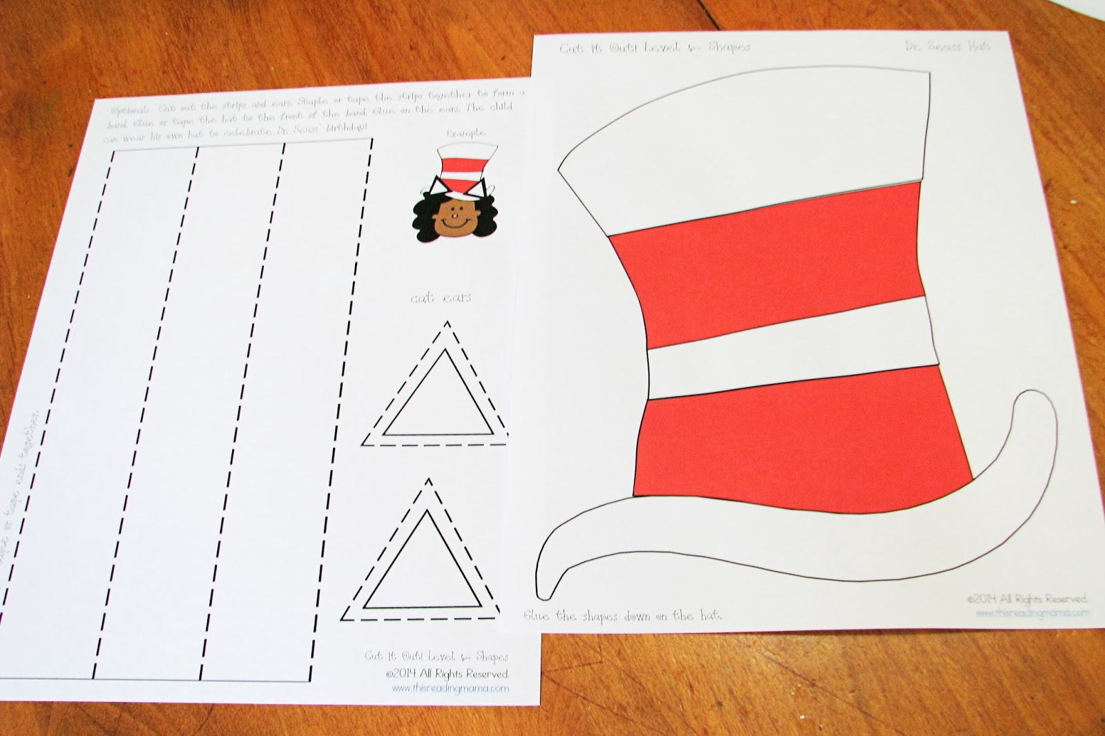 Mommy S Little Helper Cat In The Hat Preschool Theme