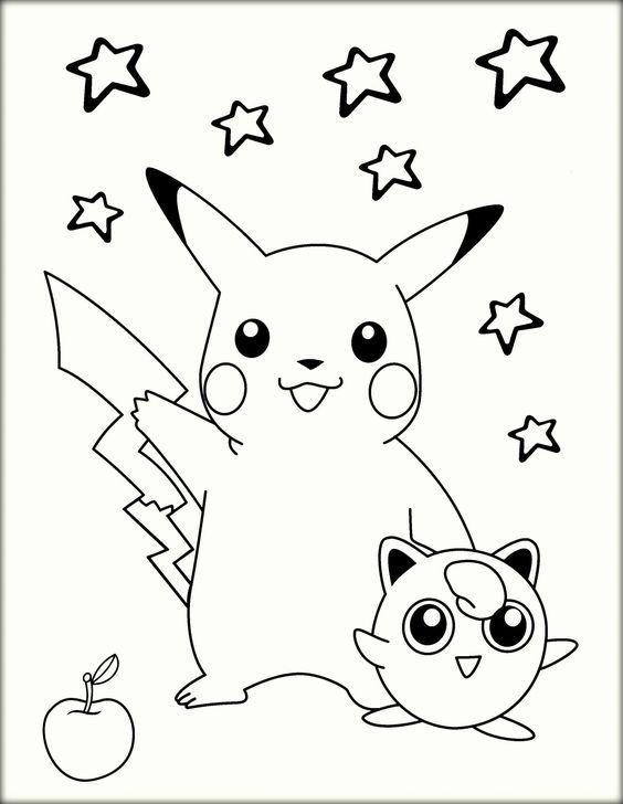 Tranh tô màu Pokemon 13
