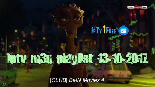 iptv m3u playlist 13-10-2017