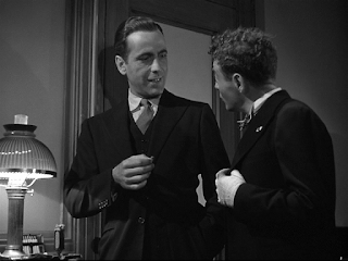 "Humprey Bogart e László Löwenstein in ""Il mistero del Falco"""