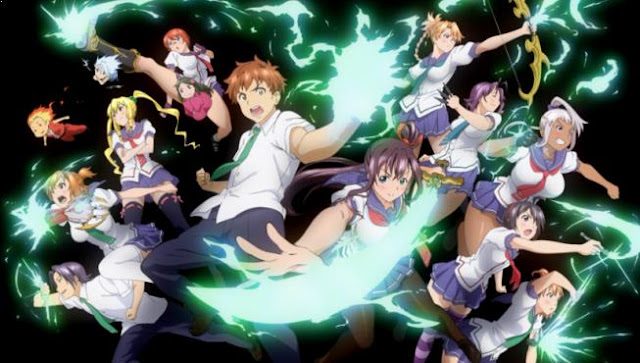 Maken-Ki - Anime Action Romance Harem Terbaik