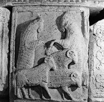 Metopă de pe monumentul de la Adamclisi