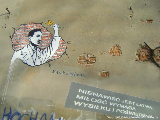 Marek Edelman - Ktoś przecież musiał zostać z tymi wszystkimi, którzy tu zginęli fot Dariusz Marek Gierej