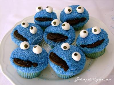 Cupcakes en forma de Triki