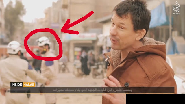 Αγαστή συνεργασία της ISIS με τα Λευκά Κράνη [Βίντεο]