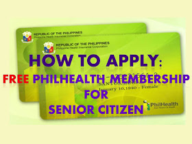 According to the REPUBLIC ACT NO. 10645: all senior citizen shall be entitled to PhilHealth benefits. All senior citizens can avail this PhilHealth benefit without the need to pay for monthly contribution. The contribution for senior citizens shall be sourced from the proceeds of Republic Act No. 10351, commonly known as the Sin Tax Law.    Who are the senior citizens that can avail FREE PHILHEALTH ? Filipino citizens who are residents of the Philippines, aged sixty (60) years or above and are not currently covered by any membership category of PhilHealth;  Qualified dependents of senior citizen members who are also senior citizen themselves; and Qualified dependents of members belonging to other membership categories, with or without coverage who are senior citizens themselves. However, Senior Citizens who are gainfully employed or who remain to have regular sources of income  shall continue to pay their premium contributions to PhilHealth under the applicable membership categories.  How to apply for senior citizen PhilHealth membership?  As senior citizen, you have two options to enroll for PhilHealth, they can enroll through municipal's Senior Citizens Affair (OSCA) office or through any PhilHealth office.   1. Through Office for the Senior Citizens Affairs (OSCA) Fill out two (2) copies of the PhilHealth Member Registration Form (PMRF); DOWNLOAD FORM HERE Submit duly accomplished PMRF to the OSCA in the city or municipality where the elderly resides Await Member Data Record and Identification card issued by PhilHealth through OSCA 2. Through PhilHealth Local Health Insurance Office (LHIO) Fill out two (2) copies of the PhilHealth Member Registration Form (PMRF); DOWNLOAD FORM HERE Attach 1 x 1 photo taken within the last six months; Present Senior Citizen's ID. Read here how to apply for Senior Citizen ID Submit duly accomplished PMRF Await Member Data Record and PhilHealth Identification Card  Continue reading... How to avail PhilHealth when senior citizen is h