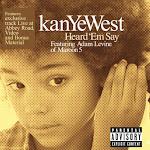 Kanye West - Heard 'Em Say - EP Cover
