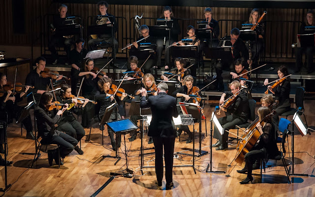 Britten Sinfonia at Saffron Hall - photo Roger King