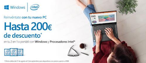 Top 10 ofertas Reinvéntate con tu nuevo PC, hasta 200 € de descuento de Worten