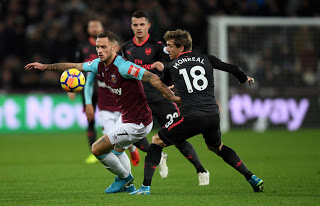 Arsenal vs West Ham Live Streaming online Tuesday 19 December 2017
