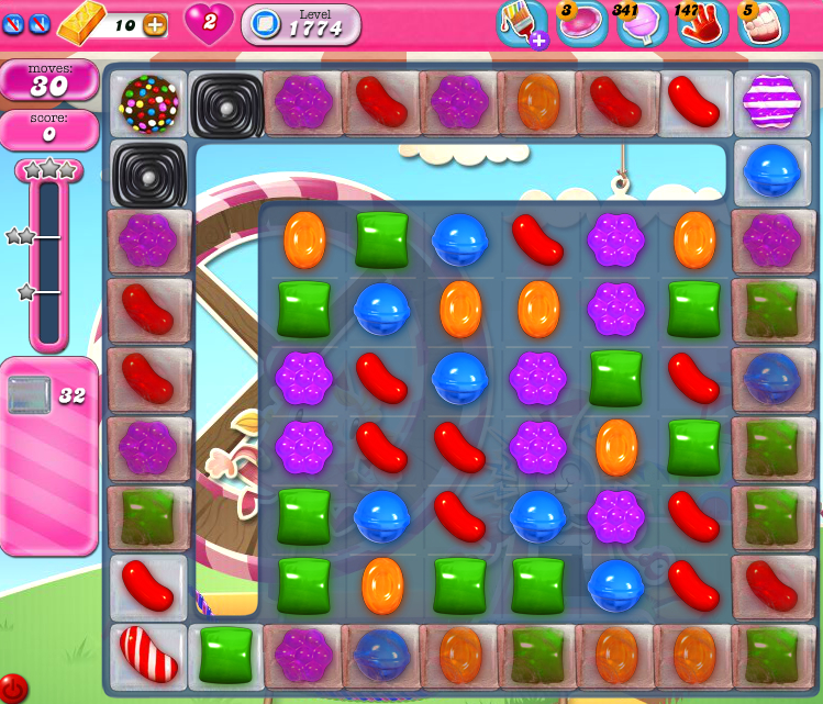 Candy Crush Saga 1774
