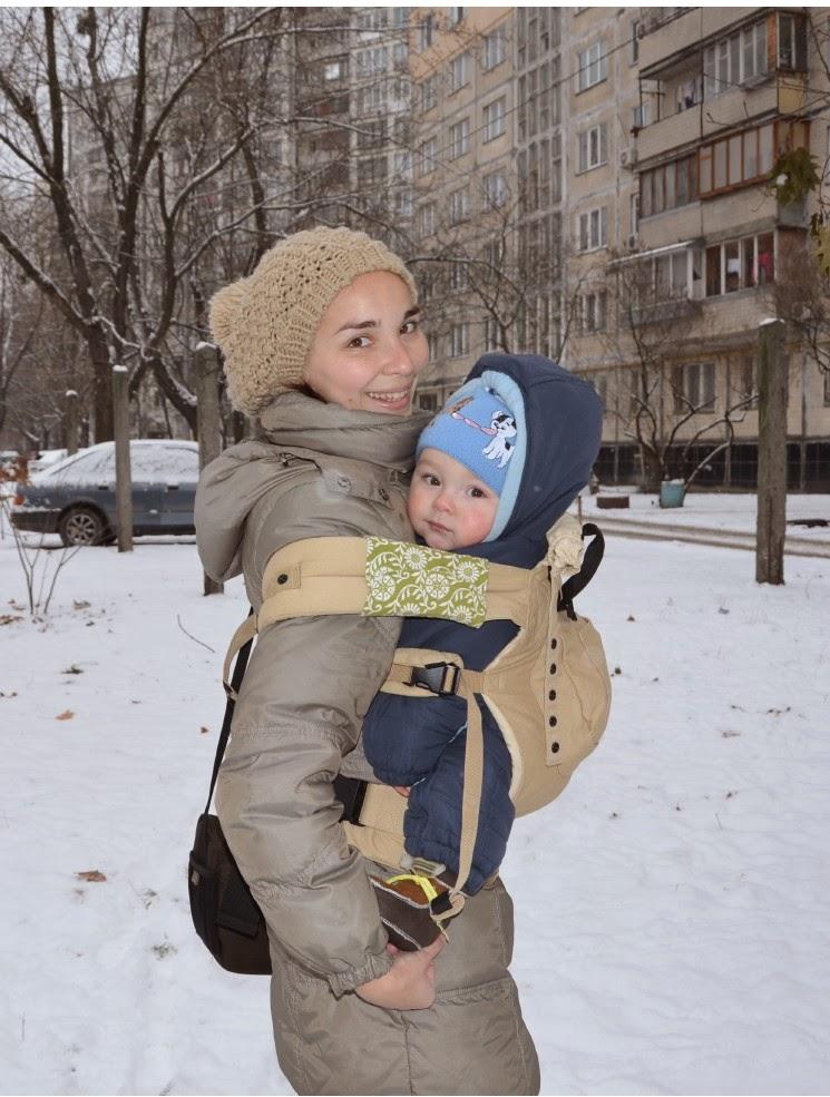 af4e584ab214 Когда похолодало, рюкзак стало не так удобно носить, как раньше, лишние  слои одежды мешали мне и малышу.
