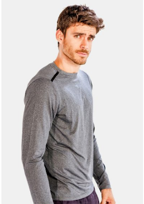 grey full sleeve t shirt