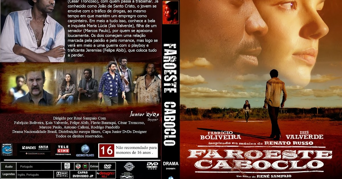 CAPAS DVD VIDEO JP: FAROESTE CABOCLO