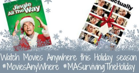 Movies Anywhere - Make the Holidays Easier #MoviesAnywhere #MASurvivingTheHoliday