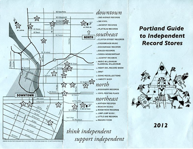 Portland Guide To Independent Record Stores - 2012