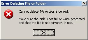 Cara Menghapus File Yang Gagal Dihapus