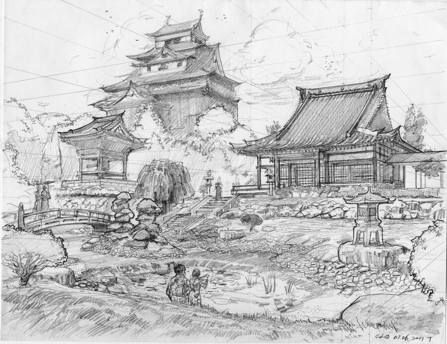 16-Chinese-arch-style-2-Longque-Chen-www-designstack-co