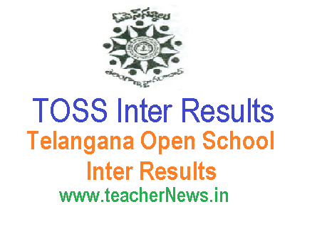 TOSS Inter Results - Telangana Open School Inter Results Download