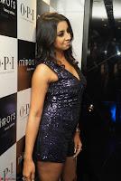 Sanjana looks happy in sparkling short Deep neck Purple Gown ~  Exclusive 28.JPG