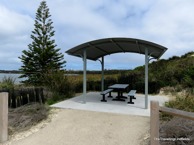 Picnic table on Rottnest Island