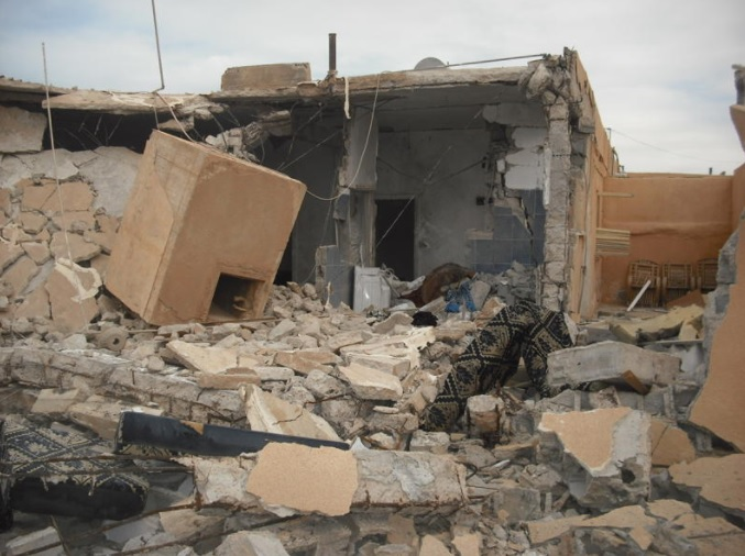 Unrelenting fighting in Libya has devastated towns and villages