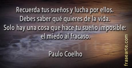 Lucha por tus sueños Paulo Coelho