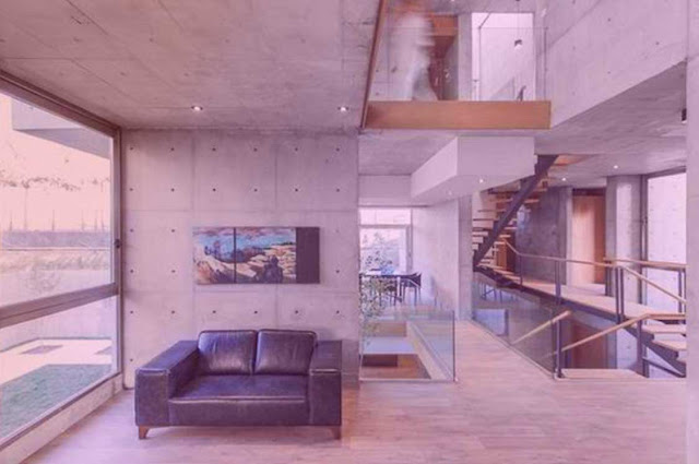 cube house /villa in Iran