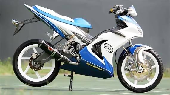 Modifikasi Motor Yamaha Vega R Paling Keren