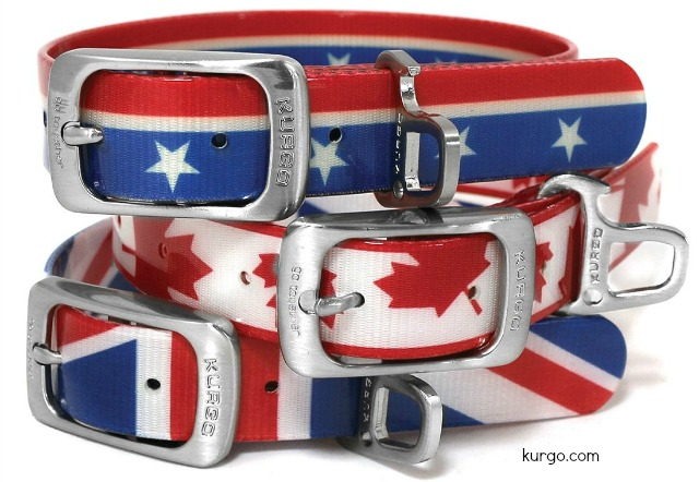 kurgo muck dog collar flag patterns