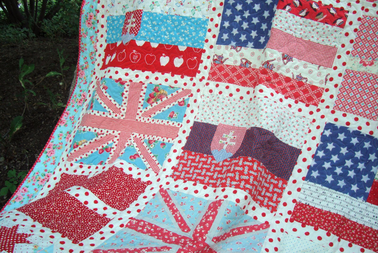 Fabric Friday Faux Union Jack Freda S Hive