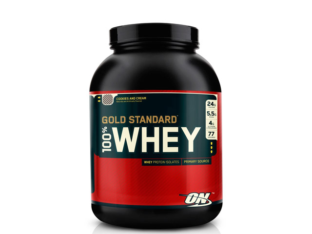 Whey protein da Optimum Nutrition