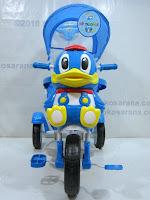 2 Sepeda Roda Tiga GoldBaby F7-1 Bebek in Blue